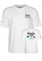 Powell-Peralta-T-Shirts-Rat-Bones-white-Vorderansicht