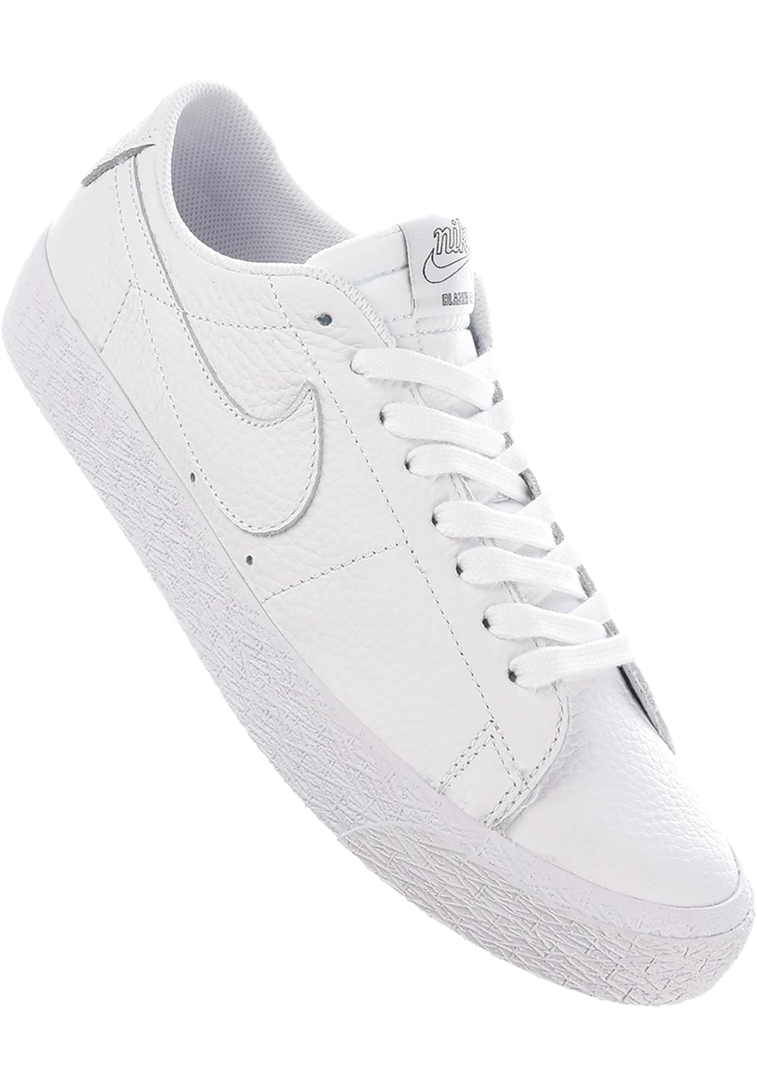 huge selection of 89acb b3bcf Zoom Blazer Low NBA Nike SB All Shoes in white-rushblue for