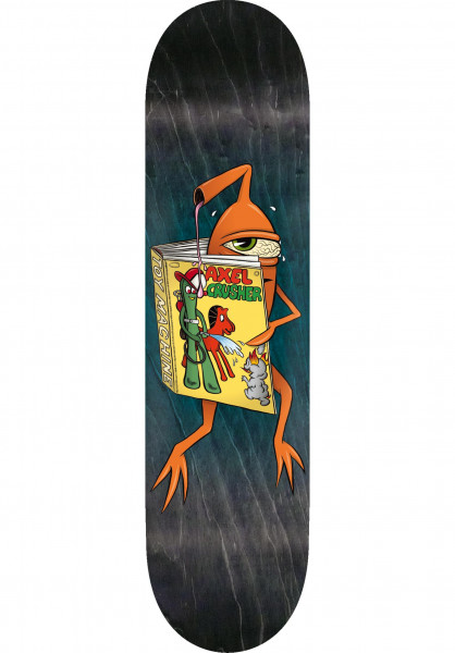 Toy-Machine Skateboard Decks Axel Gumby natural Vorderansicht
