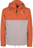 Turbokolor Windbreaker Freitag orange-beige Vorderansicht