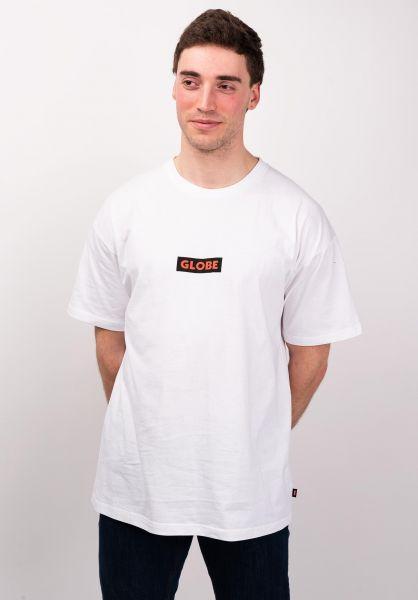 Globe T-Shirts Bar white vorderansicht 0320006