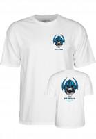 Powell-Peralta T-Shirts Welinder Nordic Skull white Vorderansicht