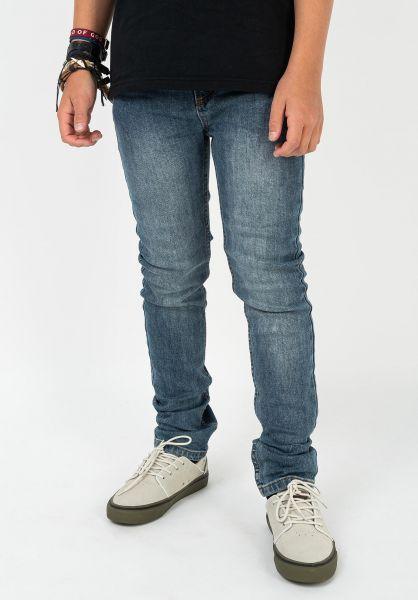 TITUS Hosen und Jeans Tube Fit Kids blue-vintage vorderansicht 0540901