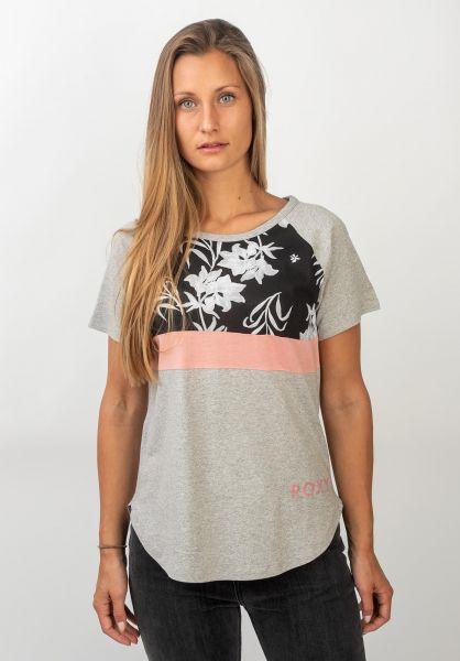 Roxy T-Shirts Before I Go heritageheather vorderansicht 0320318