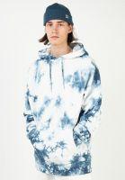titus-hoodies-script-hoodie-blue-batik-vorderansicht-0445313