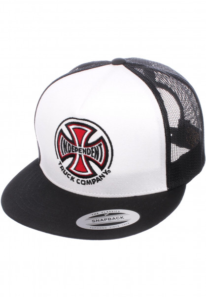 Independent Caps Truck Co Mesh white-black Vorderansicht