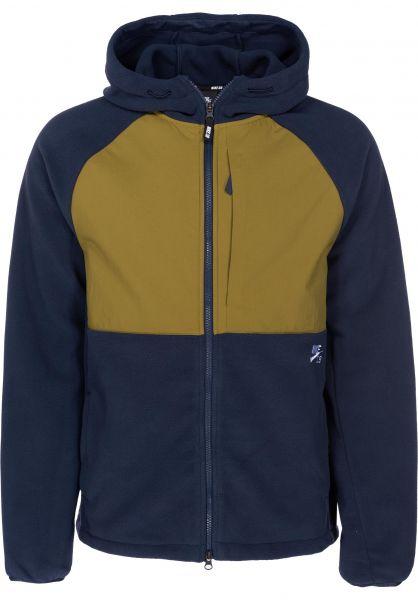 Nike SB Hoodies Therma Polartec obisidan-olive vorderansicht 0445093