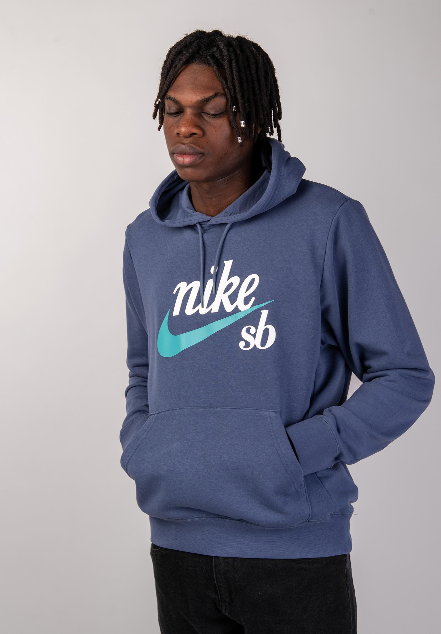 583b37f40f54 SB Washed Icon Nike SB Hoodies in obsidian-cabana for Men
