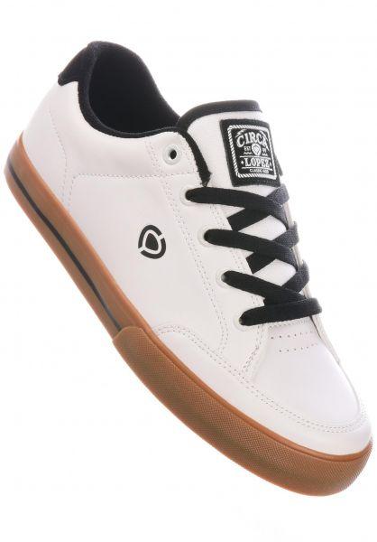 C1RCA Alle Schuhe Lopez 50 Slim white-black-gum vorderansicht 0603175