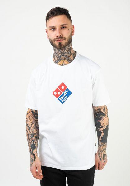 DAYOFF T-Shirts Slice white-red-blue vorderansicht 0322956