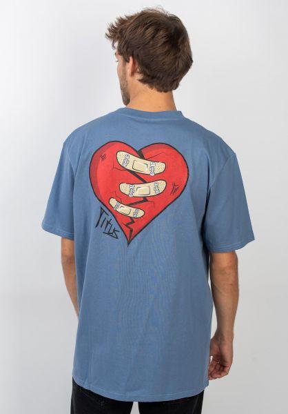 TITUS T-Shirts Yunus-Backprint infinity vorderansicht 0399237