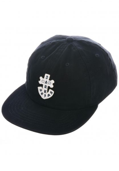 Dark Seas Caps Quint black vorderansicht 0566343