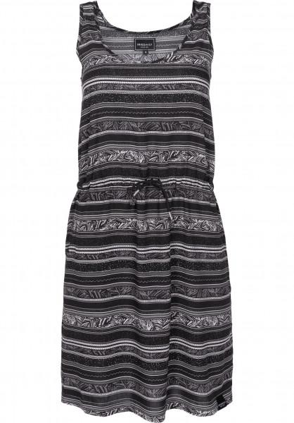 iriedaily Kleider Flairy Dress black Vorderansicht