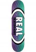 Real Skateboard Decks Parallel Fade Oval purple-green Vorderansicht