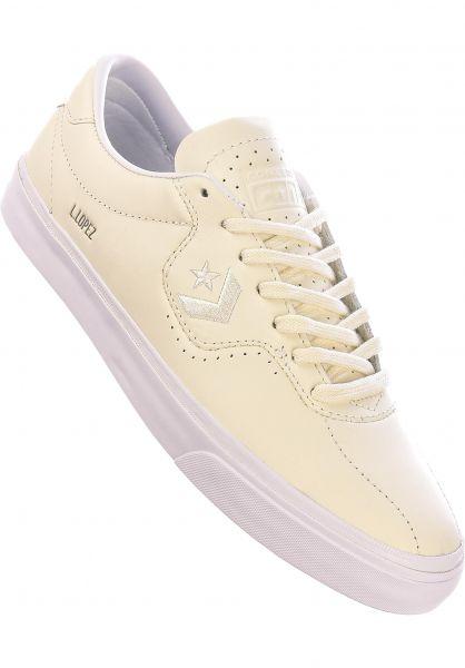 Converse CONS Alle Schuhe Louie Lopez Pro Leather OX egret-white vorderansicht 0604941