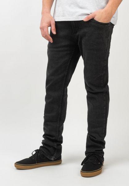 TITUS Jeans Tube Fit black-bleached vorderansicht 0540535