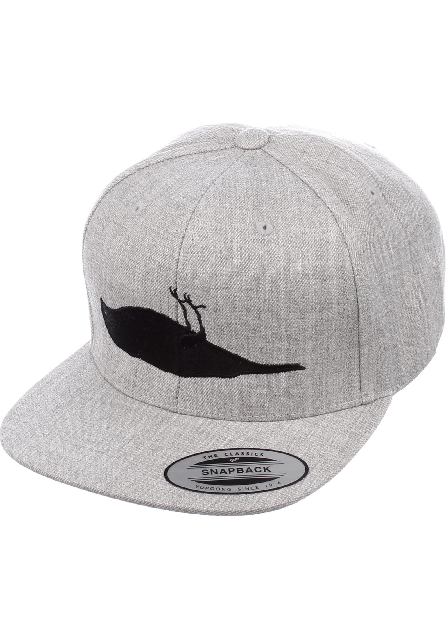 Solid Bird Atticus Caps in heathergrey for Men  dfd8dd14f0