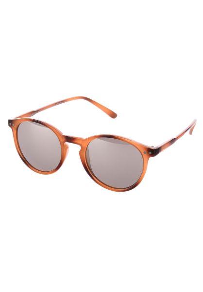 CHPO Sonnenbrillen Trestles brown-silvermirror vorderansicht 0590617