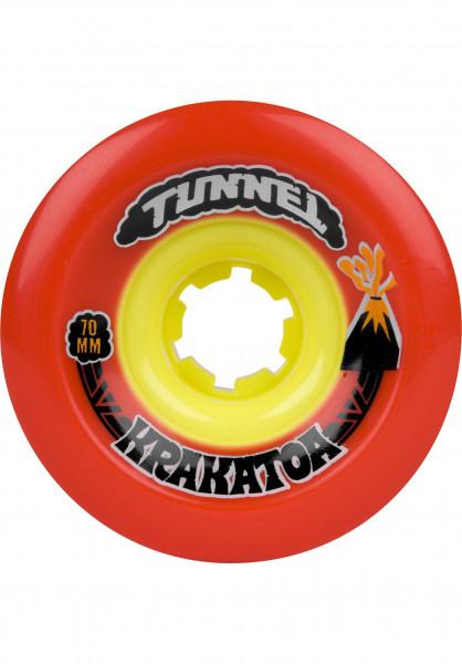 Tunnel Rollen Krakatoa 81A red Vorderansicht