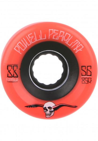 Powell-Peralta Rollen SSF G-Slides 85A red Vorderansicht