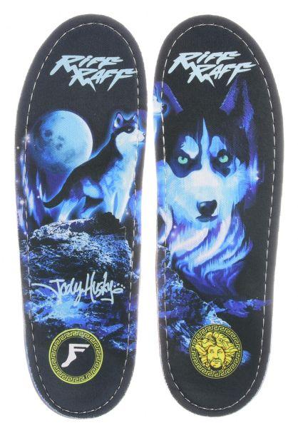 Footprint Insoles Einlegesohlen Gamechangers Riff Raff Husky multicolored vorderansicht 0249118