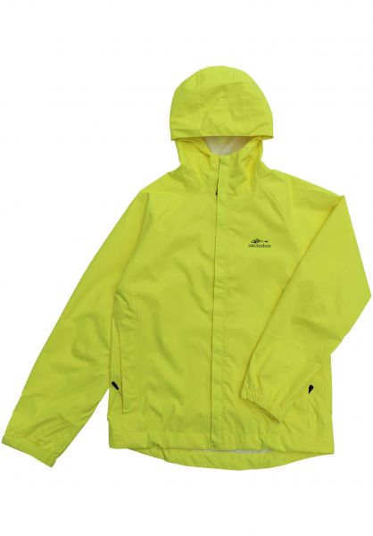 Dark Seas Übergangsjacken x Grundens Weather Watch Jacket hi-viz-yellow vorderansicht 0504235