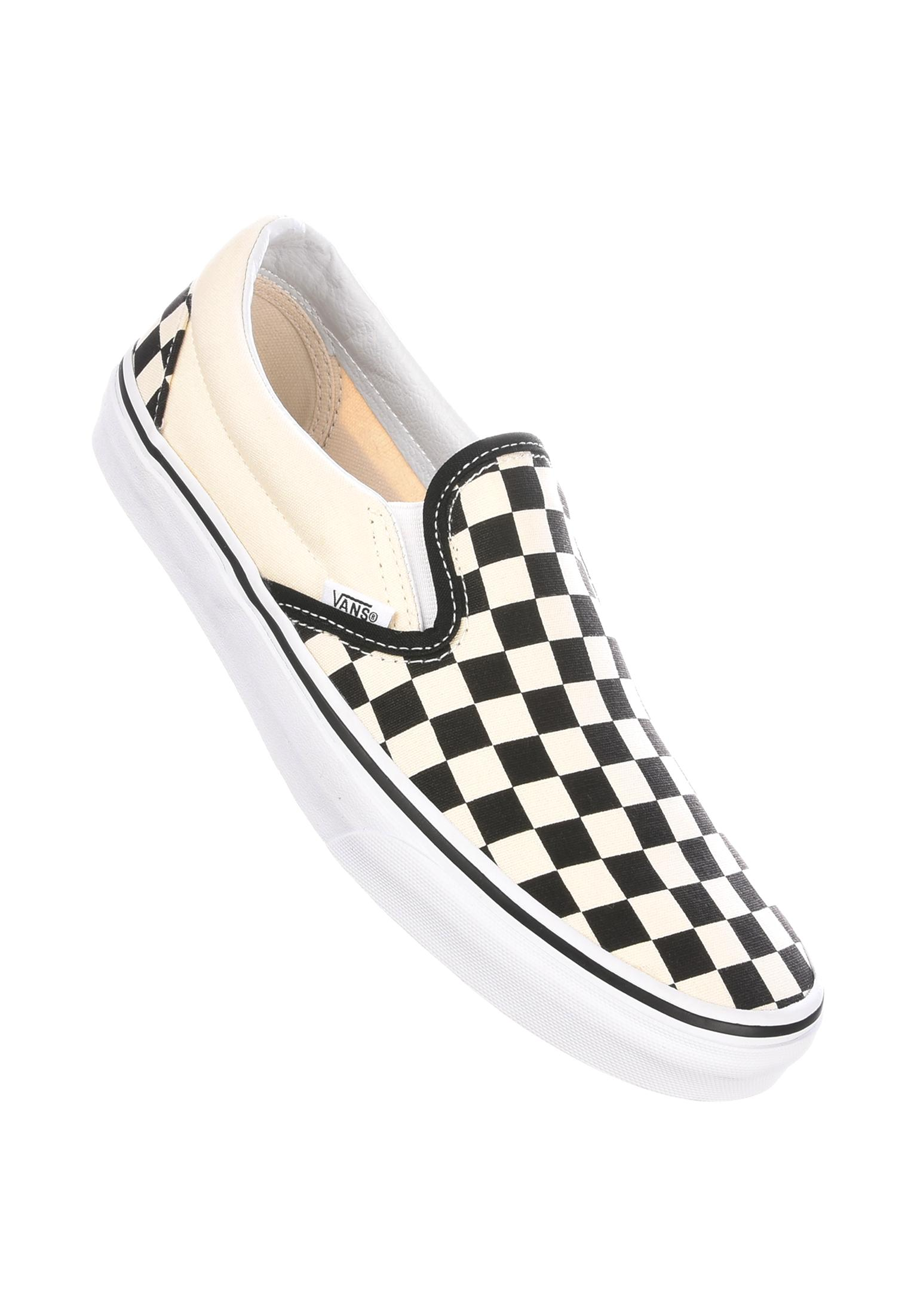 d24869f9411289 Classic-Slip-On Vans All Shoes in black-white-checkerboard for Men ...