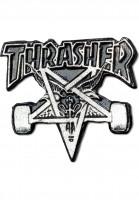 Thrasher-Verschiedenes-Skategoat-Lapel-Pin-silver-Vorderansicht