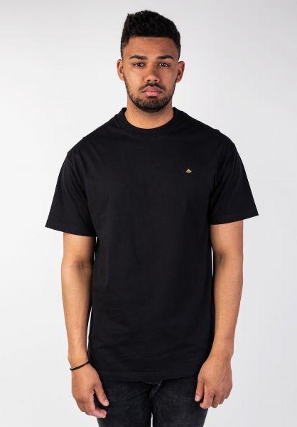 Emerica T-Shirts Mini Icon black vorderansicht 0320011