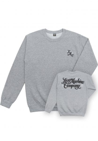 Loser-Machine Sweatshirts und Pullover El Camino heathergrey vorderansicht 0422928