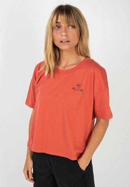 TITUS T-Shirts Softly orange vorderansicht 0320871