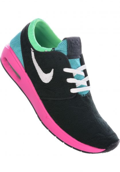 Nike SB Alle Schuhe Air Max Janoski 2 black-white-multi vorderansicht 0604585