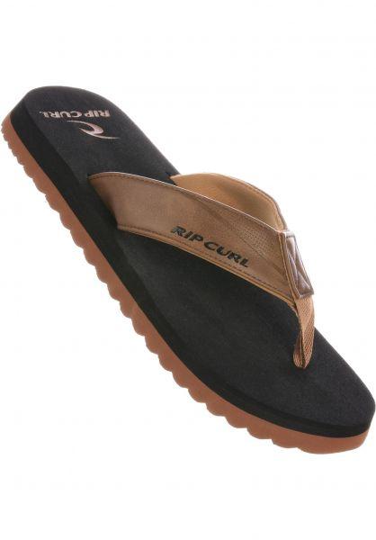 Rip Curl Sandalen Corepro tan-black vorderansicht 0620289