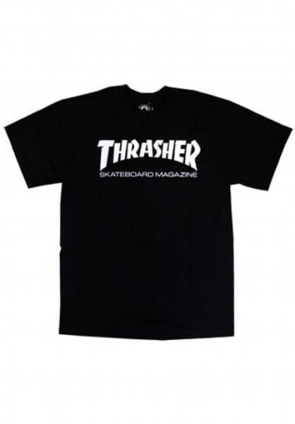 Thrasher T-Shirts Skate Mag Toddler black Vorderansicht
