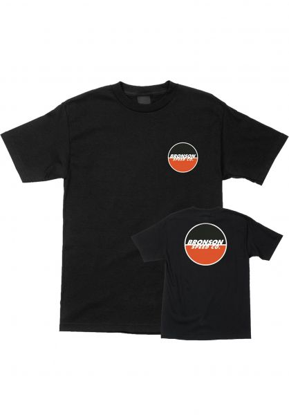 Bronson Speed Co. T-Shirts Logo black vorderansicht 0394184