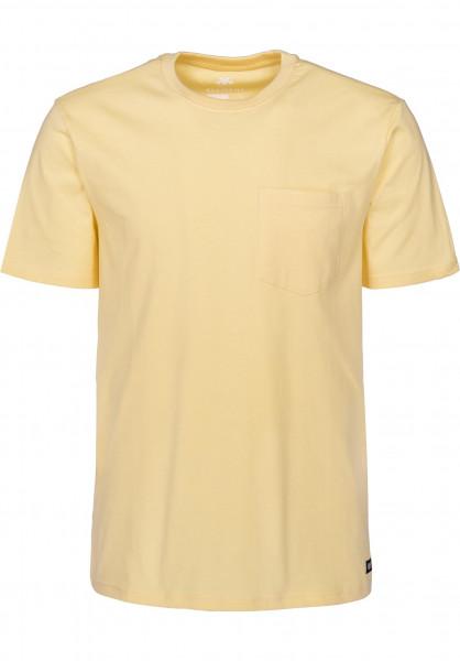 Element T-Shirts Basic Crew Pocket Pastel sunlight Vorderansicht
