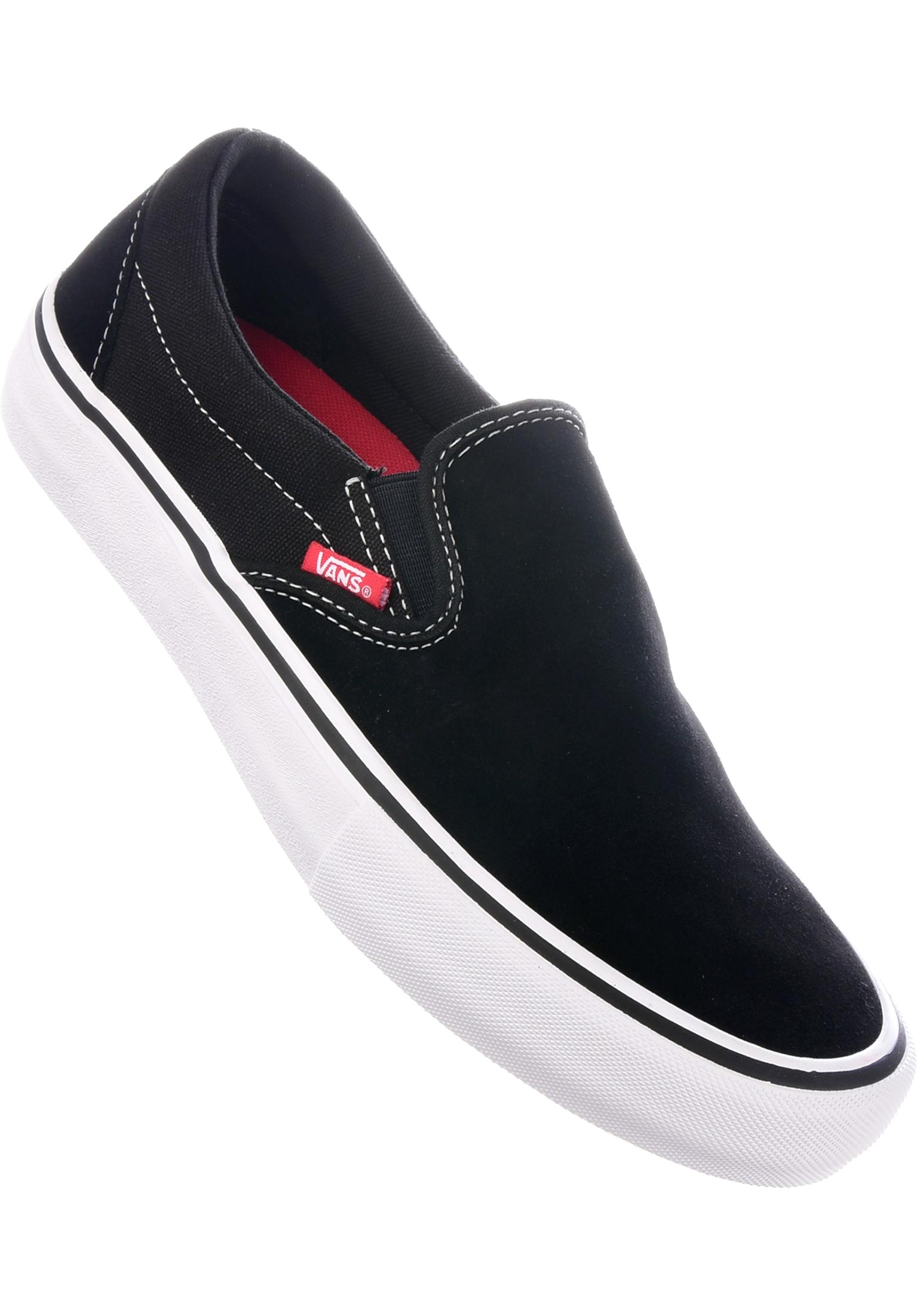 b276f64a1e87a9 Slip-On Pro Vans All Shoes in black-white-gum for Men