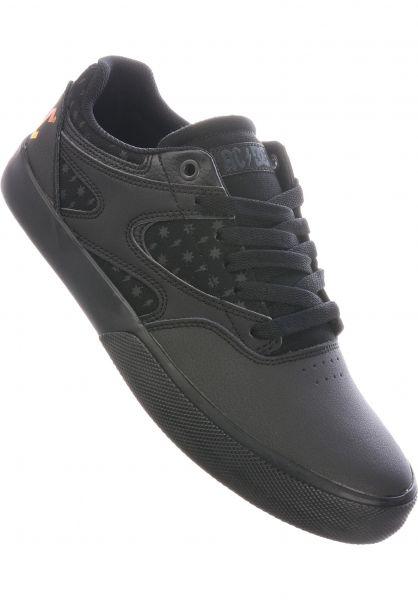 DC Shoes Alle Schuhe x AC DC Kalis Vulc black-black-grey vorderansicht 0604899