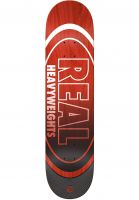 Real Skateboard Decks Heavyweights Fade red Vorderansicht