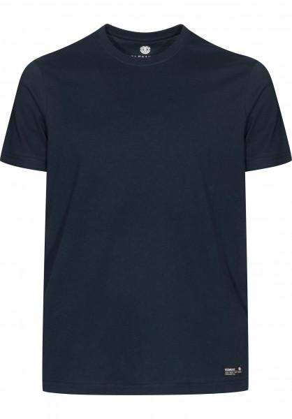 Element T-Shirts Basic Crew eclipsenavy Vorderansicht