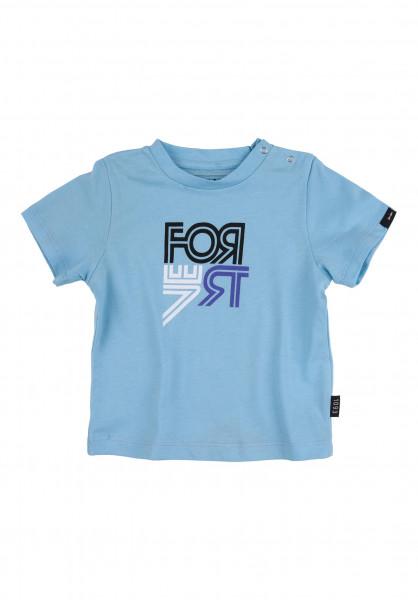 Forvert T-Shirts Mini-Fornell blue Vorderansicht