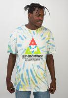 huf-t-shirts-x-woodstock-peaking-blue-vorderansicht-0320644