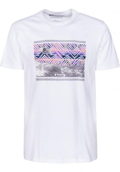 Billabong T-Shirts Carey white Vorderansicht 0398770