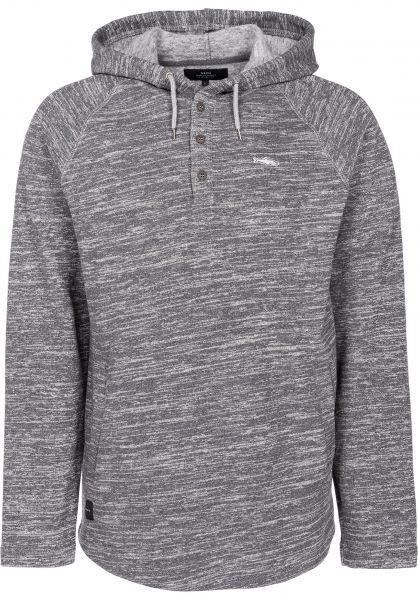 Makia Hoodies Herring Hooded Sweatshirt grey vorderansicht 0445153