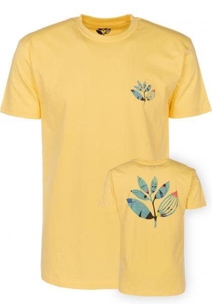 Magenta T-Shirts Miro yellow Vorderansicht