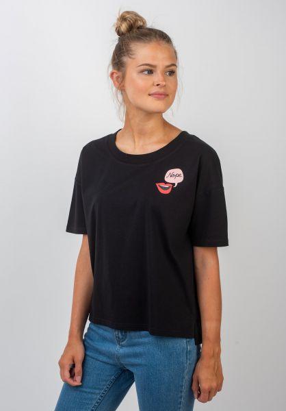 TITUS T-Shirts Nosara black vorderansicht 0399325