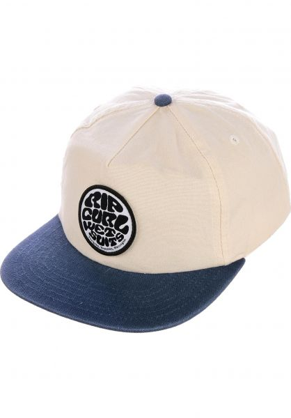 Rip Curl Caps Washed Wetty navy vorderansicht 0566196