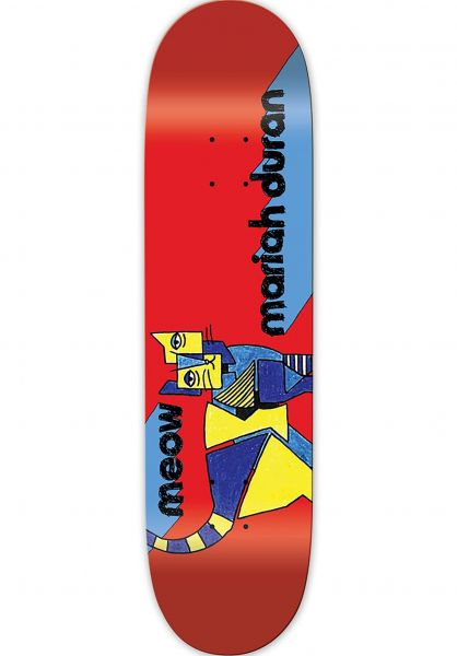 Meow Skateboards Skateboard Decks Duran Kip multicolored vorderansicht 0261804