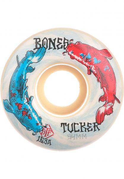 Bones Wheels Rollen STF Tucker Big Fish 103A V1 Standard white vorderansicht 0135356