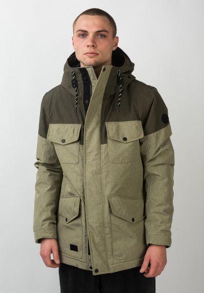 Reell Winterjacken Field Jacket 2 lightolive-olive vorderansicht 0250031